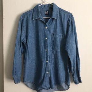 Gap Jean shirt
